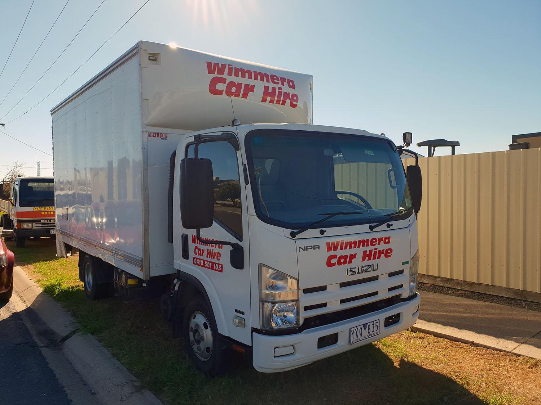 horsham hire truck